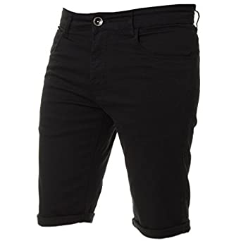707af2307d New Kruze Mens Slim Fit Stretch Cotton Chino Shorts Summer Casual Smart:  Amazon.co.uk: Clothing
