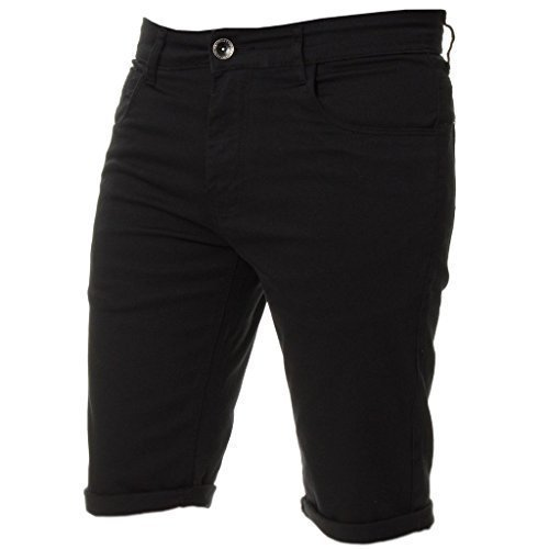 82fdbff1202 New Kruze Mens Slim Fit Stretch Cotton Chino Shorts Summer Casual Smart   Amazon.co.uk  Clothing