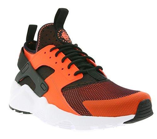 Nike Men's Air Huarache Run Ultra, BLACK/TOTAL CRIMSON-WHITE, 13 M US 819685-008