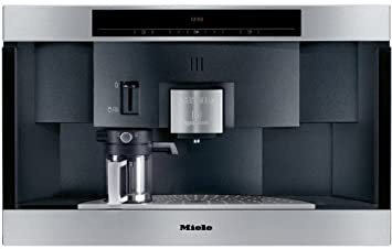 miele cva2662ss 24 builtin nespresso capsule coffee system stainless steel
