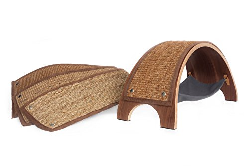 Feline Innovations The QuickSnap Replaceable Cat Scratcher + Replacements Set (Natural Biodegradable Training Pads)
