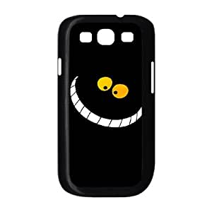Samsung Galaxy S3 I9300 Cell Phone Case for Classic Theme lovely Cheshire Cat in Wonderland Cartoon pattern design GLYCCIW95388