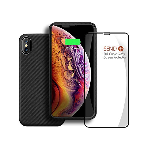 Minimalist Aramid Designed for Apple iPhone Xs Case Made of Kelvar 100% Aramid Fiber Bulletproof Armor Material, Ultra Slim Lightweight Case for iPhone Xs 5.8