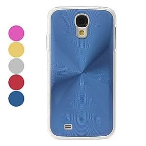 AES - Screw Tread Pattern Hard Case for Samsung Galaxy S4 I9500 , Blue