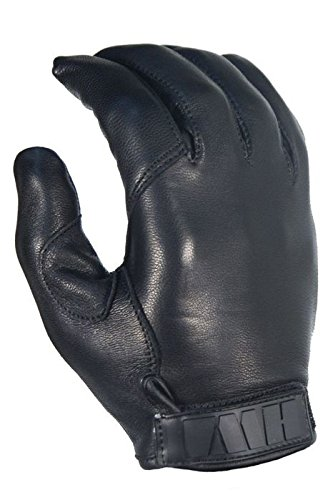 HWI Gear Kevlar Lined Leather Duty Glove, Large, Black