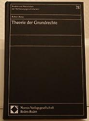 Theorie der Grundrechte (Studien und Materialien zur Verfassungsgerichtsbarkeit) (German Edition)