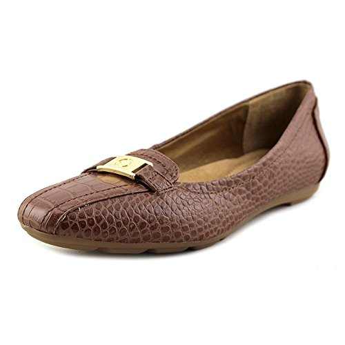 Giani Bernini Womens JILEESE Square Toe Slide Flats Nut d0ILE