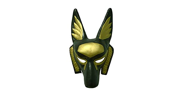 Amazon.com: Bauer Pacific Imports Childs Black And Gold Egyptian Anubis Party Festival Tie Mask Costume Accessory: Clothing
