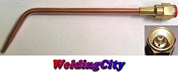WeldingCity Acetylene Welding Tip W-1#4 W-1-4 Size 4 for Victor Oxyfuel 100 Series Torch (Not J-100)
