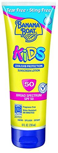 Banana Boat Sunscreen Kids Family Size Broad Spectrum Sun Care Sunscreen Lotion - SPF 50