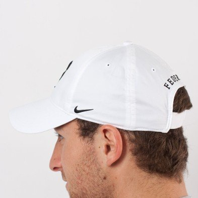 NIKE RF HYBRID CAP (ADULT UNISEX) (White/Black, One Size)