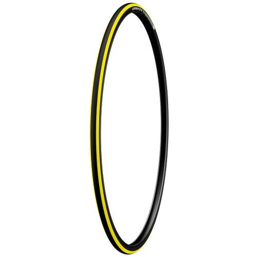 "Michelin Pro4 Endurance 28"" Road Bike Tyre 23-622, foldable yellow"
