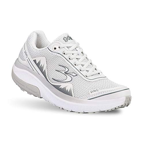 Gravity Defyer Pain Relief Women's G-Defy Mighty Walk Athletic Shoes 11 M US- Shoes for Plantar Fasciitis - White