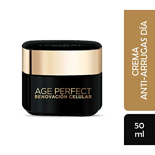 L'Oreal Paris Crema Antiarrugas, Age Perfect, 50 ml