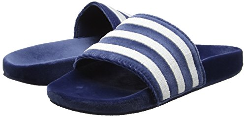 Adidas de y Hombre Adilette White White para Playa Footwear Piscina Blue Azul Mystery Footwear Zapatos ErAwrTqx4