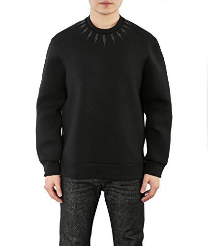 wiberlux-neil-barrett-mens-mini-thunder-print-side-zipper-sweatshirt-xl-black