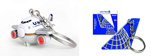 united-airlines-key-chain-set-2-piece-tail-section-plane-with-lights-sound