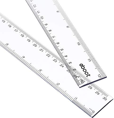 Inches Plastic Straight Measuring Student