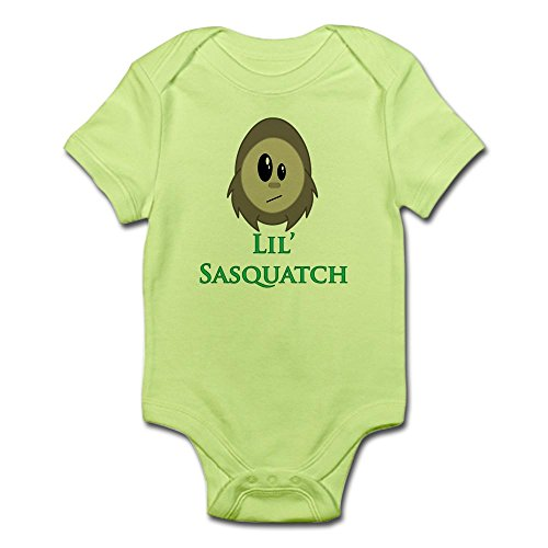 CafePress - Little Sasquatch/Bigfoot - Cute Infant Bodysuit Baby Romper - Bigfoot Suit