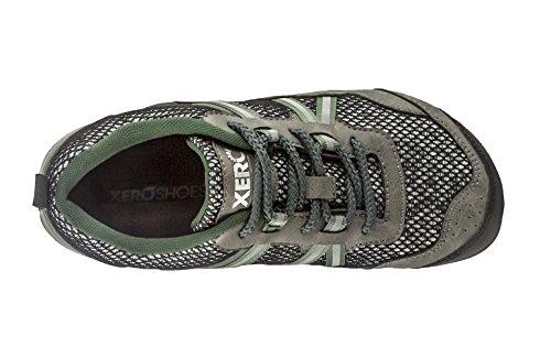 Scarpe Xero Scarpone Da Trekking Trail Running Terraflex - Leggero Minimalista A Zero Gocce Leggero A Piedi Nudi - Donna Verde Bosco