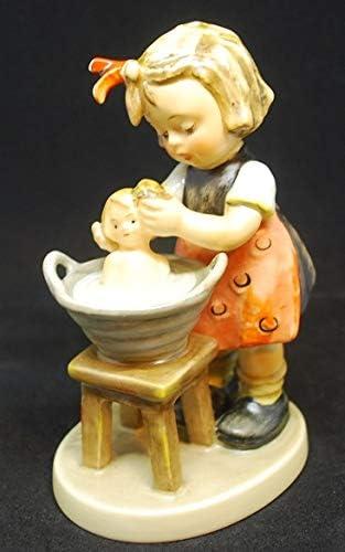 Hummel Figurine Doll Bath 319 5 inch TM4