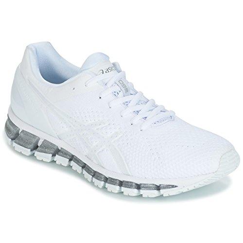 Knit À quantum Gel White Pied Snow De Asics 0100 360 Course Chaussure Silver gt05xwq