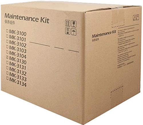 Kyocera 1702MS7US0 Model MK-3102 Maintenance Kit For use with Kyocera FS-2100, ECOSYS M3040idn and M3540idn Black & White Laser Printers; Up to 300000 Pages Yield at 5% Average Coverage