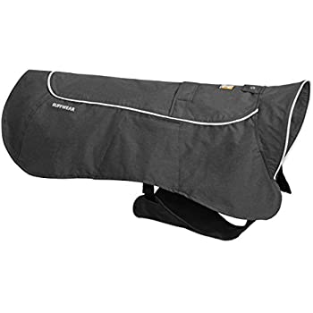 RUFFWEAR - Aira Full Coverage, Waterproof, Breathable Rain Jacket for Dogs, Twilight Gray, X-Large