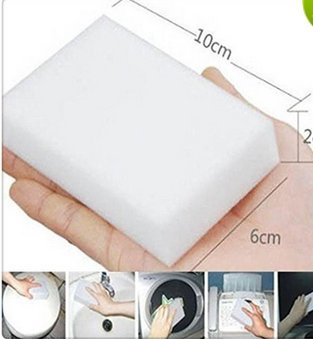 Baoer 100Pcs/lot Eraser Magic Melamine Cleaning Sponge 10x6x2CM - Magic Cleaning Sponge