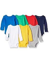 Baby Boys' 7-Pack Long-Sleeve Bodysuits