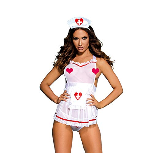 Eromate Sexy Nurse Costume for Women Cosplay Dress