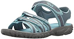 Teva Girls' K Tirra Sport Sandal, Citadel, 2 M Us Little Kid