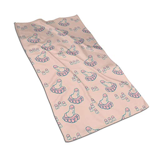 Gaojimaojin Penis Tank Tiny Dicks Sex War Floral Print Kitchen Towel Dish Towel Hand Towel Stove Top Towel and Barbeque Towel by Mainstays 28 X 18 Inch