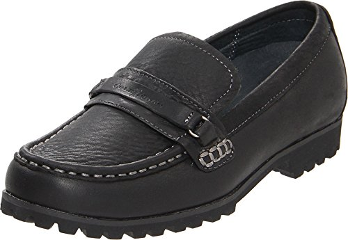 Cole Haan Kids Air Brandon Bridge (13 M US Little Kid) Black
