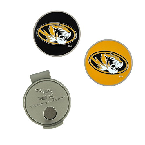 Team Effort Missouri Tigers Hat Clip & 2 Ball Markers (Visor Missouri Tigers)