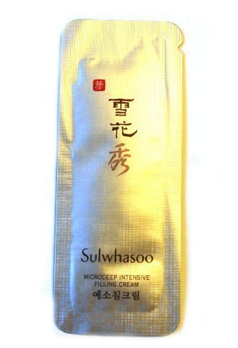 30 X Sulwhasoo Sample Microdeep Intensive Filling Cream 1 ml. Super Saver Than Normal Size