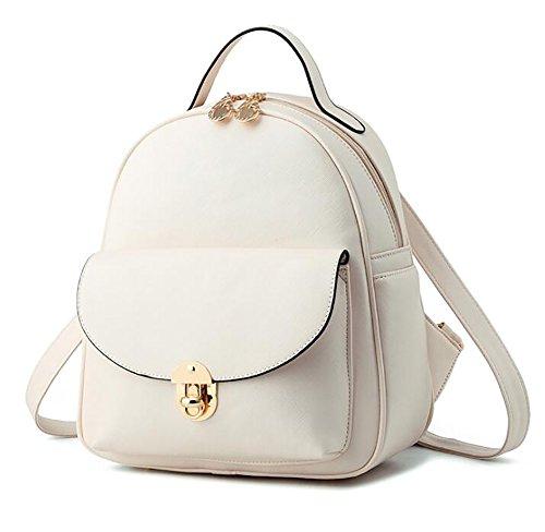 12 PU décontracté femmes des à main 26 28cm Sac cuir dos sac en la à souple multifonctionnel mode sac à 1qfFxpaU