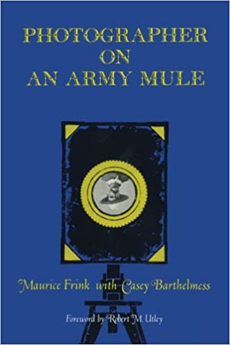 Book Photographer on an Army Mule