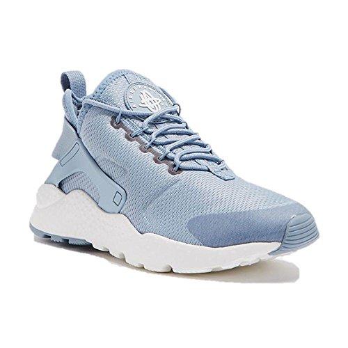 Nike 819151-402 Women's Air Huarache Ultra Running Shoes, Blue Grey/White,  8 M US