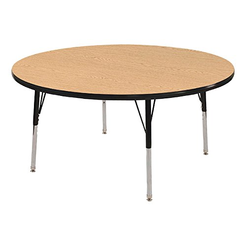 (Norwood Commercial Furniture Adjustable-Height Round Activity Table, 36