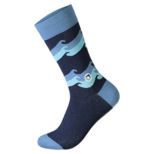 Discount Conscious Step Men's Crew Socks that Give Back free shipping