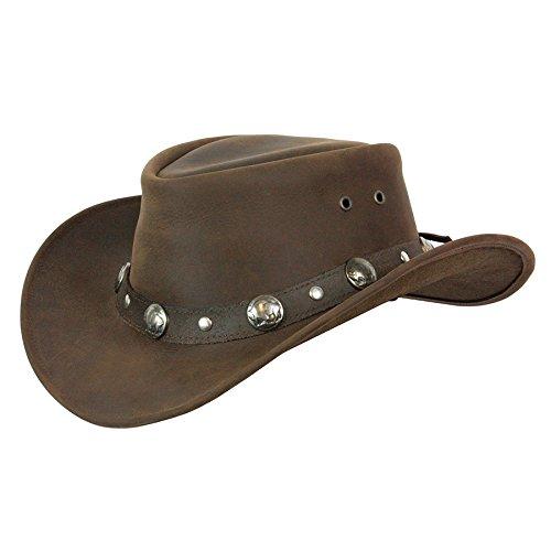 Buffalo Nickel Brown Large (Buffalo Hat Leather)