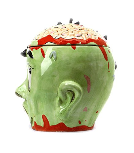 Zombie Head Cookie Jar by ThinkGeek (Image #3)