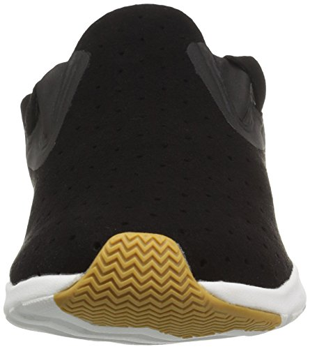 Black Fashion Moc Apollo Shell Sneaker Natural Unisex Native Rubber Jiffy White xOCYx