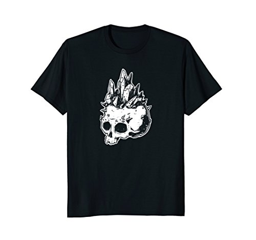 Crystal Skull Black Tee - Crystal Skull T-shirt