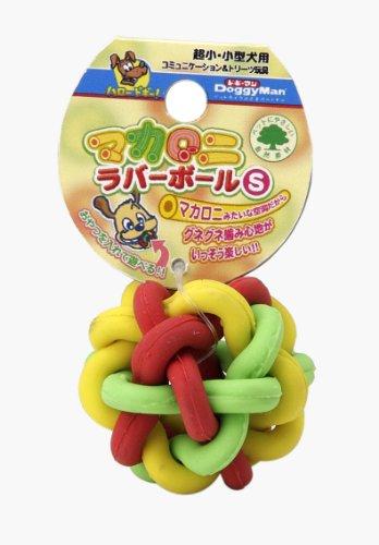 Doggy man macaroni rubber ball S (japan import)