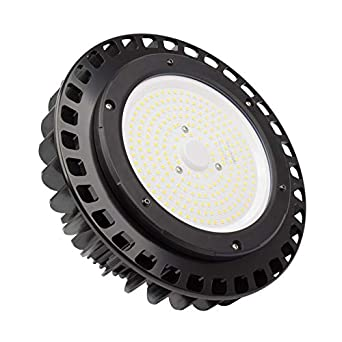 Campana LED UFO HE 100W 135lm/W MEAN WELL HBG Regulable Blanco 6000K efectoLED