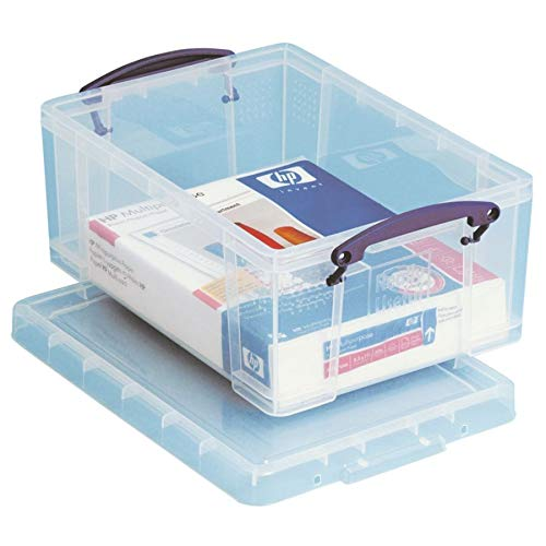 Really Useful Products 9L Clear, (Really Useful Boxes)