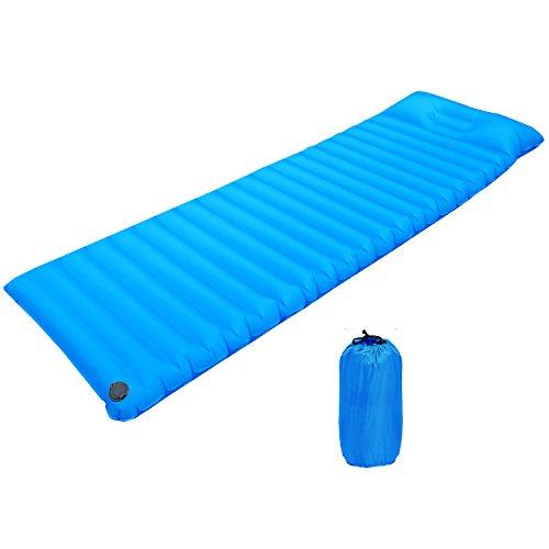 KUYOU Camping Sleeping Pad TPU Fast Inflatable Air Mattress