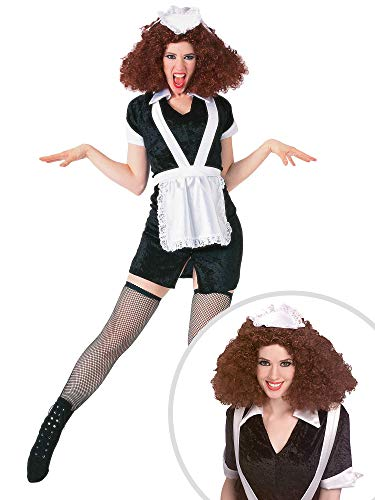 Rocky Horror Picture Show Magenta Costume Kit with Wig